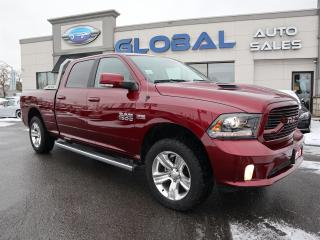 Used 2018 RAM 1500 Sport Crew Cab LWB 4WD for sale in Ottawa, ON