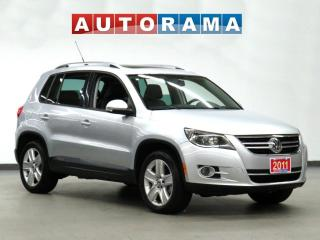 Used 2011 Volkswagen Tiguan COMFORT LINE LEATHER PANORAMIC SUNROOF AWD for sale in Toronto, ON