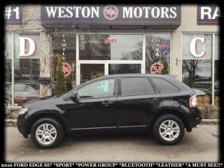 Used 2010 Ford Edge SE*SPORT*PWR GRP*BTOOTH*LEATHER*A MUST SEE!!* for sale in Toronto, ON