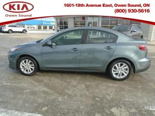 Used 2012 Mazda MAZDA3 GX  - Low Mileage for sale in Owen Sound, ON