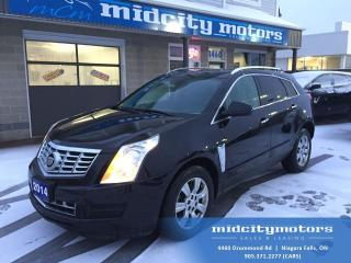 Used 2014 Cadillac SRX Luxury/ All Wheel Drive/ Backup cam/ FULLY LOADED! for sale in Niagara Falls, ON