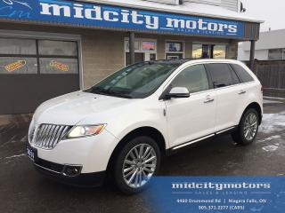 Used 2014 Lincoln MKX AWD/ Backup cam/ Heated seats/ Dual sunroof/ NAV for sale in Niagara Falls, ON
