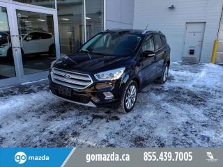 Used 2018 Ford Escape TITANIUM AWD NAVI PANO ROOF LEATHER for sale in Edmonton, AB