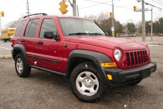 Used 2007 Jeep Liberty Sport for sale in Mississauga, ON