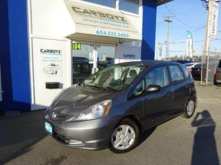 Used 2012 Honda Fit DX Hatchback, Automatic, No Accidents, Low Kms for sale in Langley, BC