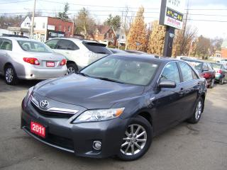 Used 2011 Toyota Camry Hybride,Leather,GPS,Sunroof,Fog Lights for sale in Kitchener, ON