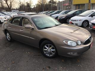 Used 2006 Buick Allure CXL/ LEATHER/ SUNROOF/ ALLOYS/ FULLY LOADED! for sale in Scarborough, ON