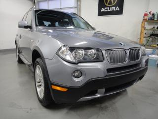 Used 2008 BMW X3 PANO ROOF,NO ACCIDENT,ALL SERVICE RECORDS for sale in North York, ON