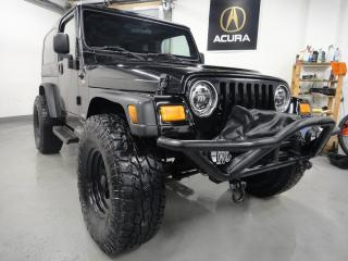 Used 2004 Jeep TJ Unlimited,BIG WHEELS,MUST SEE for sale in North York, ON