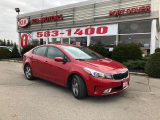 Used 2018 Kia Forte LX+/Heated Seats/Cruise/Rear Camera for sale in Port Dover, ON