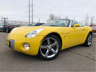 Used 2007 Pontiac Solstice Fun little summer ride! Drop Top for sale in St Catharines, ON