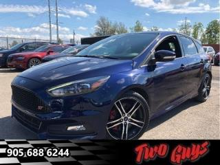 Used 2016 Ford Focus ST| 252HP | Stick | Nav| Leather| Sunroof for sale in St Catharines, ON