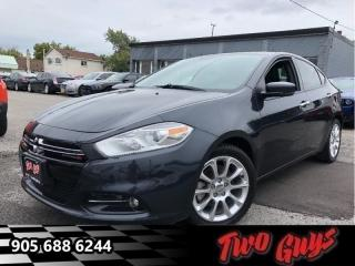 Used 2013 Dodge Dart Limited | 4 New Tires| Leather | Alpine Stereo for sale in St Catharines, ON