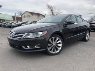 Used 2013 Volkswagen Passat CC Highline - Sunroof -  Heated Seats for sale in St Catharines, ON