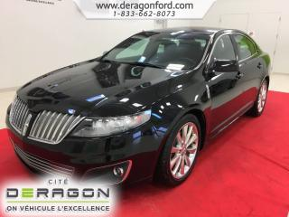 Used 2012 Lincoln MKS Awd Ecoboost Nav for sale in Cowansville, QC
