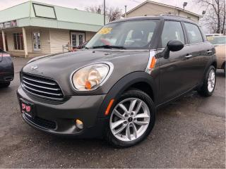 Used 2012 MINI Cooper Countryman Auto - Panoramic Roof - Htd Leather for sale in St Catharines, ON