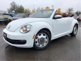 Used 2016 Volkswagen Beetle Convertible 1.8 TSI Classic | Auto | Navigation for sale in St Catharines, ON