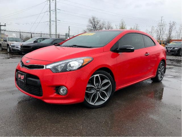 2015 Kia Forte Koup |Leather|Back Up Camera|New Tires|