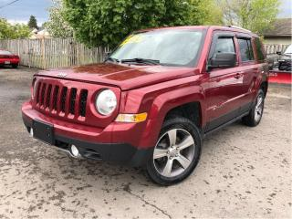 Used 2017 Jeep Patriot |Sunroof|Leather|Navigation|New Tires| for sale in St Catharines, ON