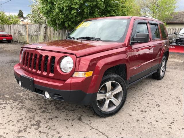 2017 Jeep Patriot |Sunroof|Leather|Navigation|New Tires|
