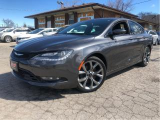 Used 2015 Chrysler 200 S | New Tires |Navigation |Leather Seats for sale in St Catharines, ON
