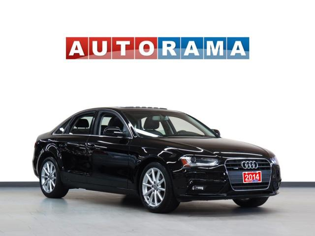 2014 Audi A4 2.0 PROGRESSIV NAVIGATION LEATHER SUNROOF AWD