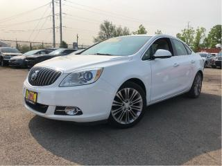Used 2014 Buick Verano Leather Group Navigation Sunroof Leather for sale in St Catharines, ON