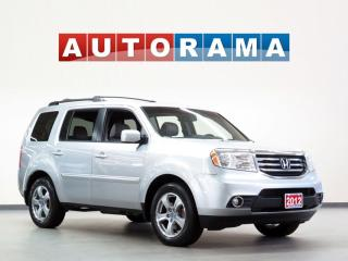 Used 2012 Honda Pilot EX-L 8 PASSENGER LEATHER SUNROOF BACK UP CAM AWD for sale in Toronto, ON