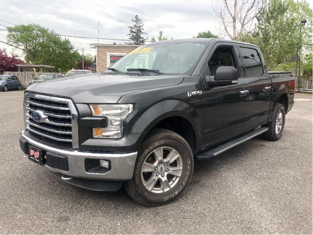 2016 Ford F-150 |4WD|Navigation|Back Up Camera|Bluetooth|