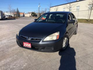 Used 2006 Honda Accord 4 Door, Automatic,Low Km, 3 Years warranty availab for sale in Toronto, ON
