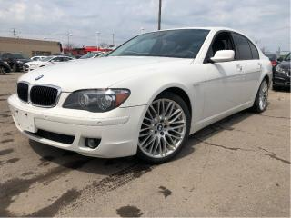 Used 2008 BMW 7 Series |Leather|Sunroof|Low Kms!| for sale in St Catharines, ON
