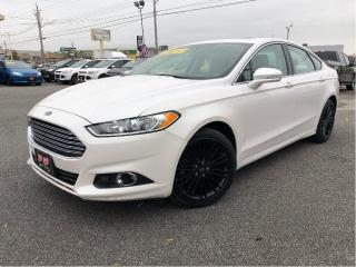 Used 2014 Ford Fusion SE  Navigation | Sunroof | Leather for sale in St Catharines, ON