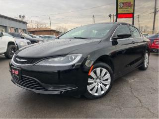 Used 2015 Chrysler 200 LX -  - Cruise - Air for sale in St Catharines, ON