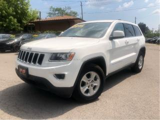 Used 2014 Jeep Grand Cherokee Laredo - 4WD -  - Heated Mirrors for sale in St Catharines, ON