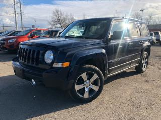 Used 2016 Jeep Patriot High Altitude Nav Leather 4wd Alloys for sale in St Catharines, ON