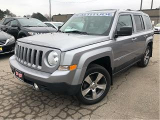 Used 2016 Jeep Patriot High Altitude AWD - Leather Sunroof for sale in St Catharines, ON