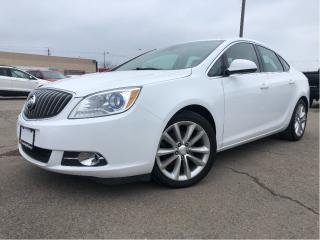 Used 2015 Buick Verano Leather Group| Navigation| Sunroof| Bose | Remote for sale in St Catharines, ON