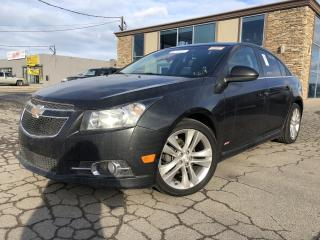 Used 2014 Chevrolet Cruze 2LT R/S Navigation Leather Sunroof for sale in St Catharines, ON