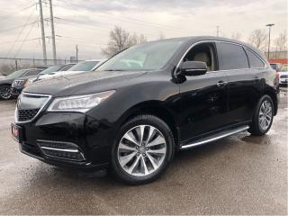 Used 2016 Acura MDX Technology DVD  Navigation  19 Rims for sale in St Catharines, ON