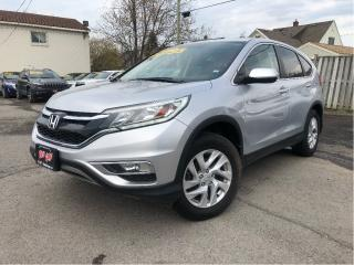 Used 2015 Honda CR-V EX Sunroof - New Tires - Auto for sale in St Catharines, ON