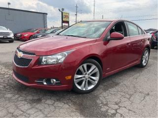 Used 2014 Chevrolet Cruze |Leather|Sunroof|Parking Assist Rear|Heated Front for sale in St Catharines, ON