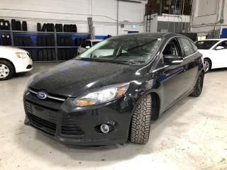 Used 2014 Ford Focus Titanium - NAVIGATION-LEATHER-SUNROOF-REMOTE START for sale in Aurora, ON