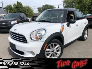 Used 2014 MINI Cooper Countryman Base FWD - Air - Tilt for sale in St Catharines, ON
