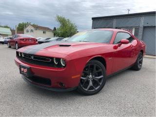 Used 2017 Dodge Challenger R/T| Red Interior!| 6Spd| 5.7L Hemi| Alpine Audio for sale in St Catharines, ON