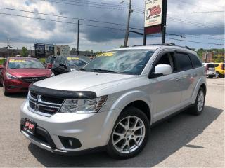 Used 2014 Dodge Journey R/T AWD| DVD| Nav | Leather| Bluetooth for sale in St Catharines, ON