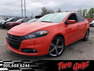 Used 2015 Dodge Dart GT  - Leather Seats - Keyless Start for sale in St Catharines, ON