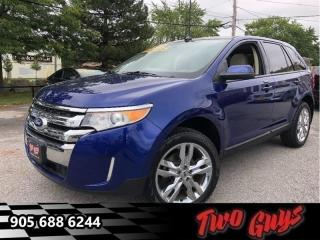 Used 2014 Ford Edge SEL - Bluetooth -  Heated Seats for sale in St Catharines, ON