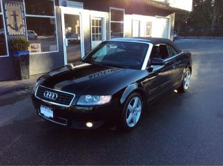 Used 2004 Audi A4 1.8T for sale in Parksville, BC