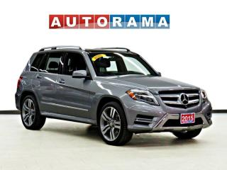 Used 2015 Mercedes-Benz GLK 250 Bluetech 4WD Navigation Leather Sunroof Backup Cam for sale in Toronto, ON