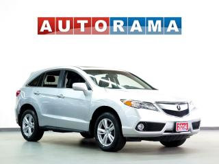 Used 2014 Acura RDX TECH PKG NAVI BACK UP CAM LEATHER SUNROOF AWD for sale in Toronto, ON